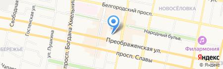 Крым на карте Белгорода