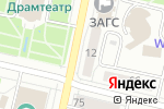 Схема проезда до компании Викинг в Белгороде