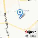 Шелковые детки на карте Белгорода