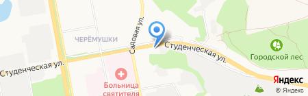 Белгородкино на карте Белгорода