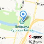 Курская битва. Белгородское направление на карте Белгорода