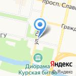 Викинг на карте Белгорода