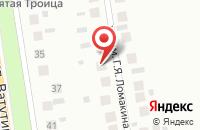 Схема проезда до компании Мечта в Озерецком