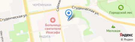 Восход на карте Белгорода