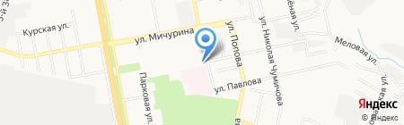 Бутик рекламы на карте Белгорода