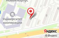 Схема проезда до компании Сити Стар в Белгороде