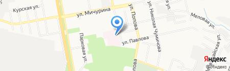 Госпиталь для ветеранов войн на карте Белгорода