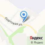 Маранафа на карте Белгорода
