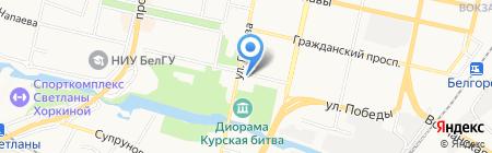 Мир Здоровья на карте Белгорода