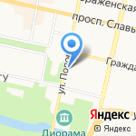 Управление ЗАГС на карте Белгорода