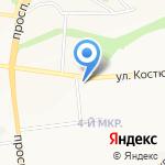 Алоэ на карте Белгорода