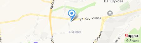 36.6 на карте Белгорода