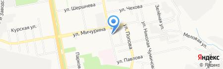 Макияж-студия на карте Белгорода