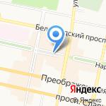 Аида на карте Белгорода