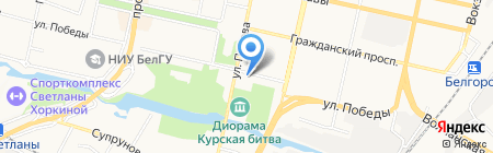 Omservice.pro на карте Белгорода