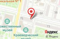 Схема проезда до компании Альма в Белгороде