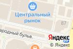 Схема проезда до компании Centro в Белгороде