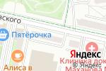 Схема проезда до компании Надежда в Белгороде