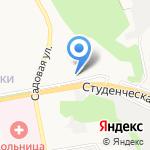 Белтур на карте Белгорода