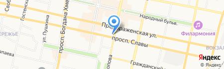 Костромской ювелирный завод на карте Белгорода
