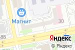 Схема проезда до компании Недвижимость для Вас в Белгороде