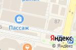 Схема проезда до компании Ferrum Auto в Белгороде