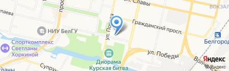 Кулинария на карте Белгорода