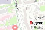 Схема проезда до компании Княжий двор в Белгороде