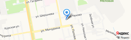Детский сад №71 на карте Белгорода