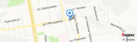 Радио Европа Плюс Белгород на карте Белгорода