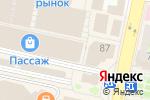 Схема проезда до компании ЕвроБум в Белгороде