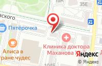 Схема проезда до компании НеБукет в Белгороде