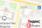 Схема проезда до компании Столовая в Белгороде