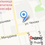Детский сад №13 на карте Белгорода