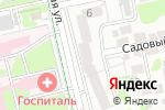 Схема проезда до компании ProfyКлуб в Белгороде