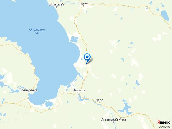 деревня Опарино на карте