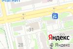 Схема проезда до компании Теплоком в Белгороде