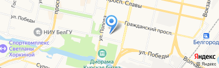 Управление культуры на карте Белгорода