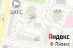 Схема проезда до компании Управление культуры в Белгороде