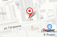 Схема проезда до компании АкваДизайн в Белгороде