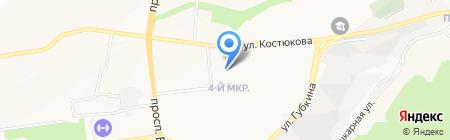 Детский сад №87 на карте Белгорода