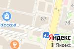 Схема проезда до компании КАРАТ-STYLE в Белгороде