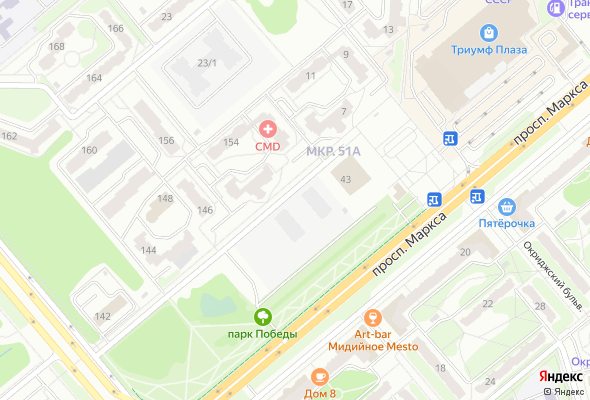продажа квартир Парковый центр