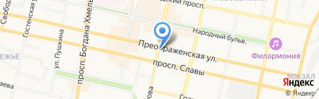 Enter на карте Белгорода