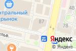 Схема проезда до компании Смешные цены в Белгороде