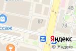 Схема проезда до компании Часовая мастерская в Белгороде