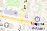 Схема проезда до компании Эскофье в Белгороде