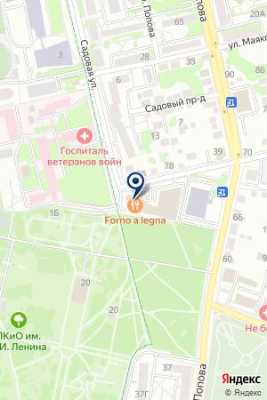 АГЕНТСТВО НЕДВИЖИМОСТИ БЕЛСИТИ на карте Белгорода