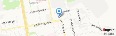 Мебель Черноземья на карте Белгорода
