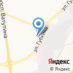 Глянец на карте Белгорода